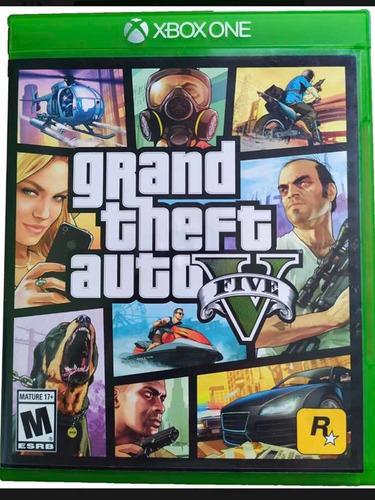 Imagen 1 de 1 de Grand Theft Auto Gta 5 Xbox One Nuevo Y Sellado Juego Fisico