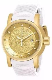 Relógio Masculino Chave Dourado Yakuza Promocao Barato Gs