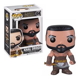 Figura Funko Pop Games Of Thrones - Khal Drogo 04. Original
