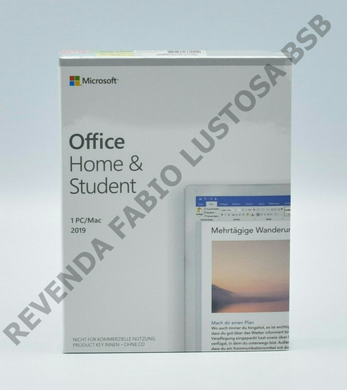 Office Home And Student 2019 Fpp
