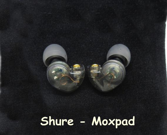 Capsula Fone Reposição Mmcx - Driver 10mm Shure - Moxpad