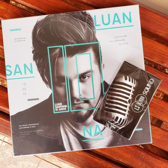 Box 10 Anos + Perfume Ls&you Sound - Luan Santana