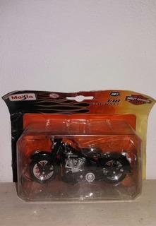 Kit Com 6 Miniaturas Motos Maisto Harley-davidson 1/18