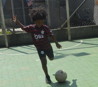 Kit 4 Conjuntos Infantil Flamengo Bruno Henrique