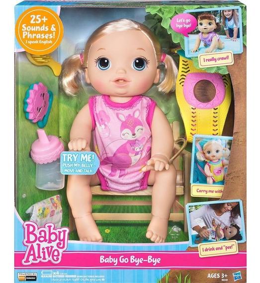 Boneca Baby Alive Hora Passeio Loira -