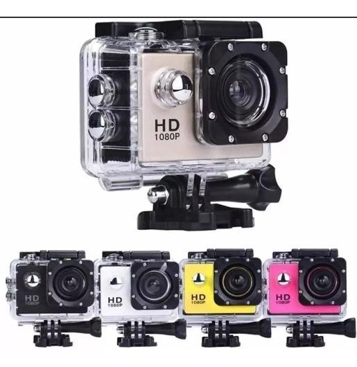 Camera Action Cam Go Sports Pro Full Hd Prova D