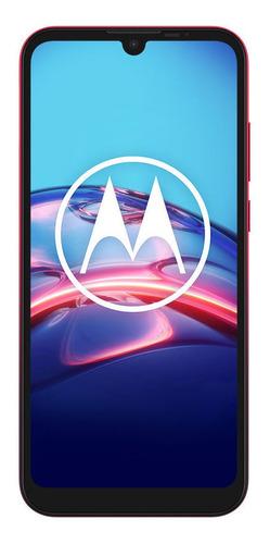 Celular Libre Motorola E6s Berry Blend