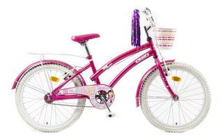 Bicicleta Infantil Olmo Tiny Dancers Rodado 20 Nena Rosa