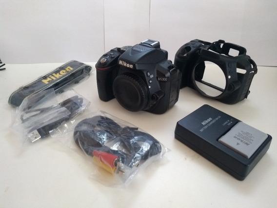 Câmera Nikon D5300 Fullhd 24 Megapixels + Brinde