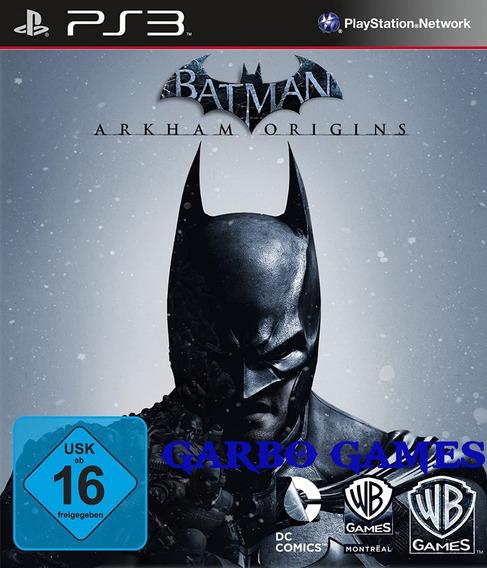 Jogo De Ps3 Batman Arkhan Origins Em Mídia Digital
