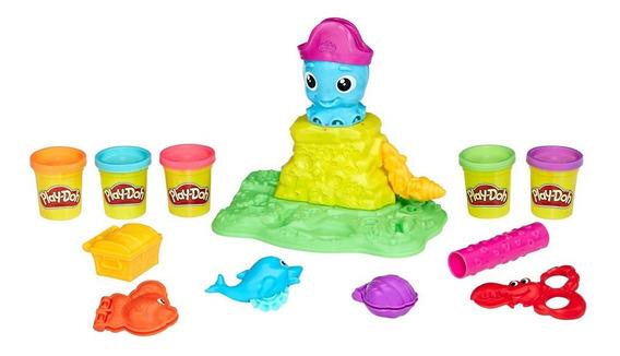 Conjunto Play-doh - Polvo Divertido - Hasbro
