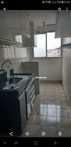 Apartamento Com 2 Dormitórios À Venda, 54 M² Por R$ 170.000,00 - Jardim Maia - Guarulhos/sp - Ap2530