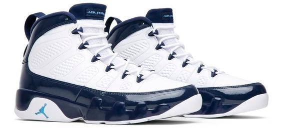 Tenis Nike Air Jordan 9 Retro Unc Originales Nuevos En Caja