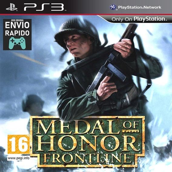 Medal Of Honor Frontline Jogo Raro - Jogos Ps3 Original