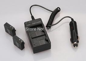 1 Bateria 900 + 1 Carreg Veicular E Parede P/cam H9 H8 E Sj
