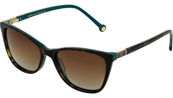 Óculos De Sol Feminino Sabrina Sato Tartaruga - Polarizada