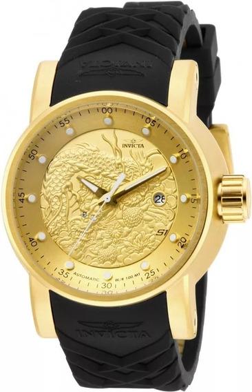 Relógio Invicta Yakuza Nh35a Automático Original 12790 Super