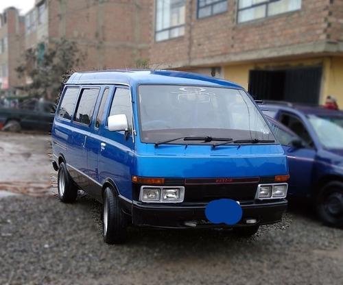Nissan Vannette Año 1992 Dual Glp