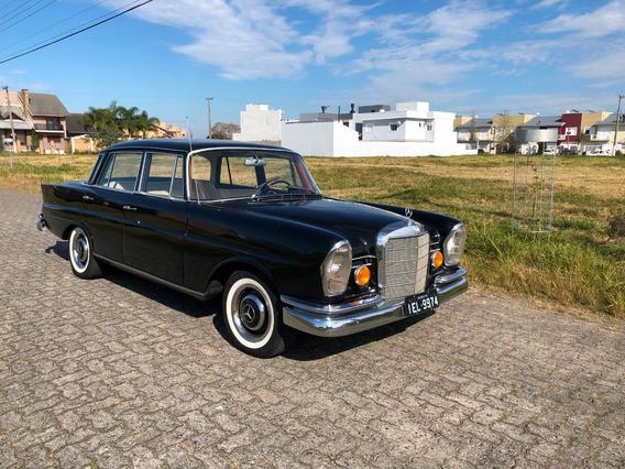 Mercedes 1965 - Diesel - Placa Preta