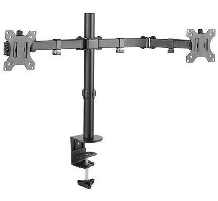 Suporte Monitor Duplo 15 A 32 Articulado De Mesa T1224c Elg