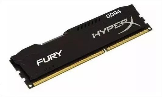 Memória Hyperx Fury Kingston 8gb Ddr4 2400mhz Cl15 Pc Gamer