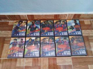 Las Clases Del Barcelona En Dvd Coleccion Completa 10 Discos