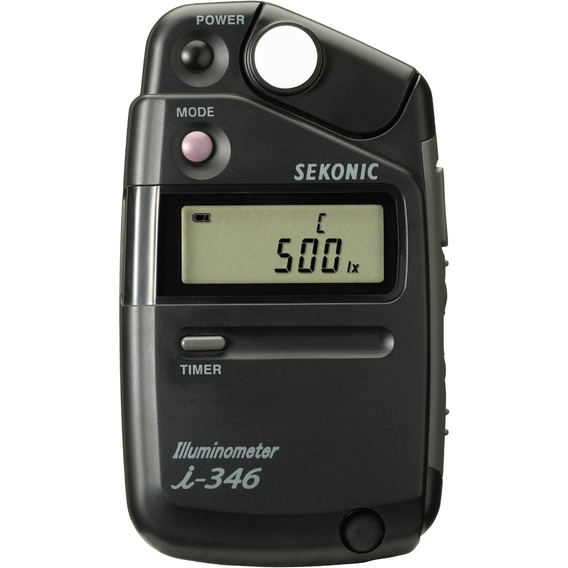 Fotometro Sekonic Luxometro Iluminometro I-346 P/ Cine Video