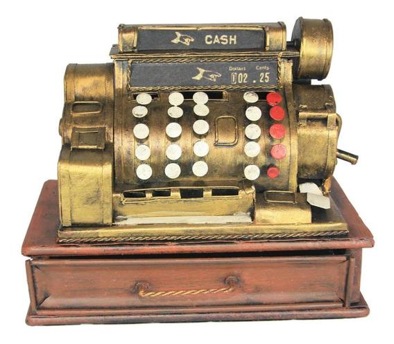 Cofre Vintage Caixa Registradora