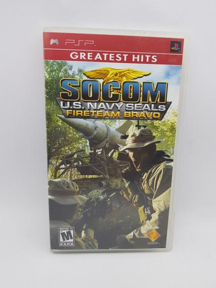 Umd Psp Socom U.s. Navy Seals Fireteam Bravo Usado Zerado