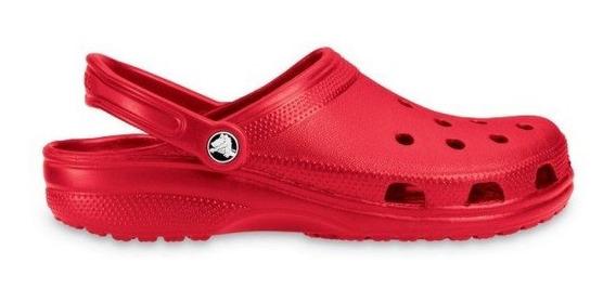 Crocs Unisex Clasic Clasicas Rojas Originales