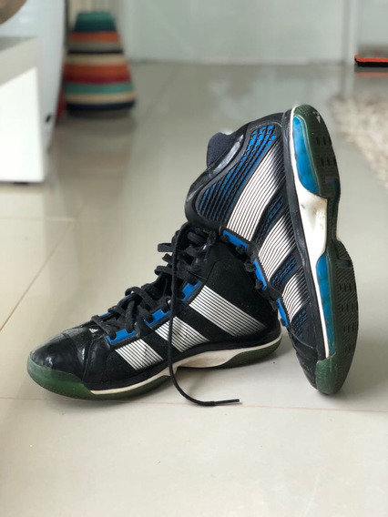 Tênis adidas Dwight Howard Superbeast - Preta/azul - 41 Br
