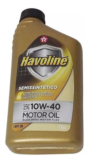 1 Litro Óleo Motor Havoline 10w40 Semi Sintético