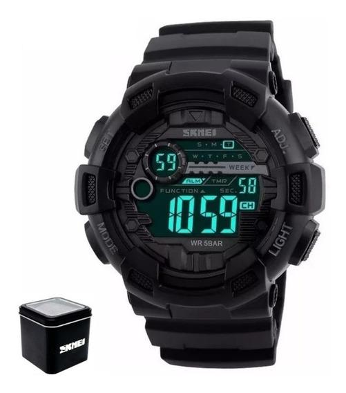 Reloj Hombre Skmei 1243 Digital Deportivo Militar Campismo