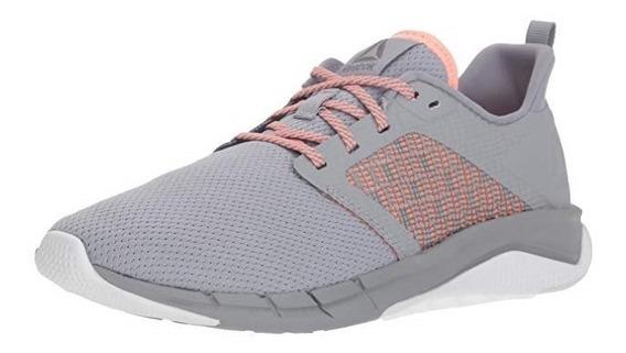 Zapatillas Reebok Para Muj Print Run 3.0 Color Gris Talla 35
