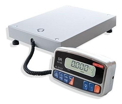 Imagen 1 de 3 de Bascula Electrónica De 45 Kgs Para Paqueterías Torrey