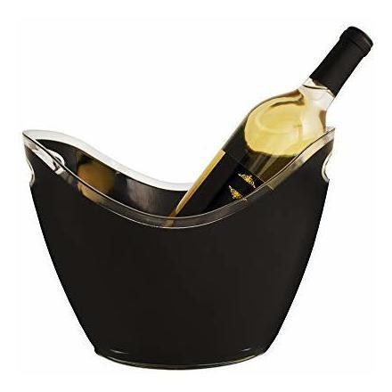 Imagen 1 de 5 de Cubo De Hielo True Modern Con Capacidad Para 2 Botellas De