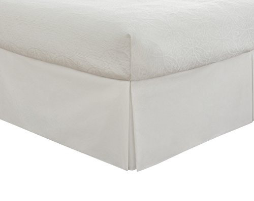 Faldón Para Cama De Microfibra Queen Alto 35.56 Cm Blanco