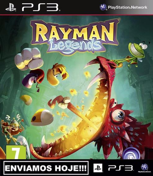 Rayman Legends Ps3 Psn Midia Digital Receba Hoje