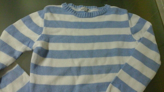 Sweter De Hilo Unisex Talle 10/12 Marca Zara