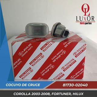 Cocuyo O Luz De Cruce Corolla 2003-2008 Fortuner Hilux