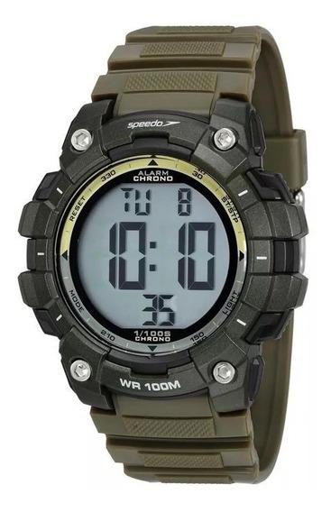 Relógio Speedo Masculino Ref: 80644g0evnp2 Militar Digital