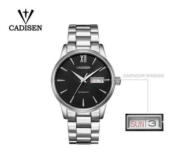 Relógio Automático Cadisen C1032 Seiko Nh36