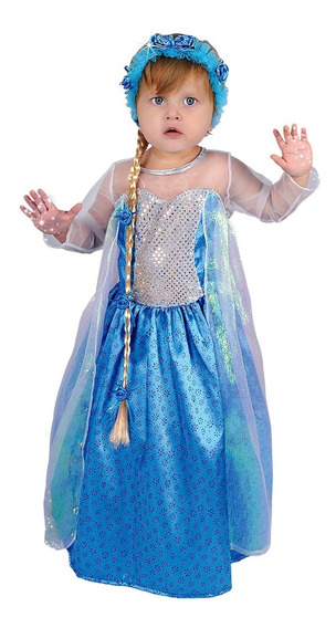 Disfraz De Frozen Bebe Carnavalito -d576