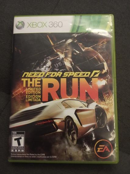 Need For Speed The Run Xbox 360 Original Impecável