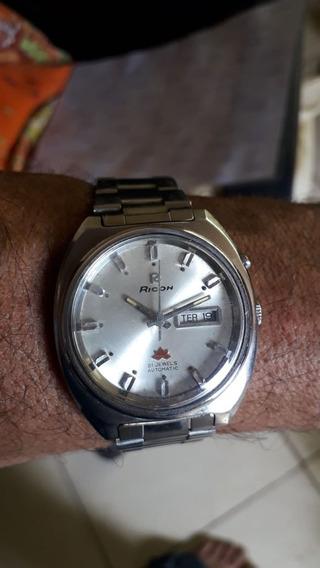 Relógio Ricoh - Automático - Masculino - Lindo - R422