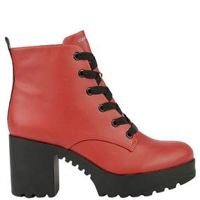 efc5f2815 Coturno Vermelho Cravo E Canela - Calçados, Roupas e Bolsas com o ...