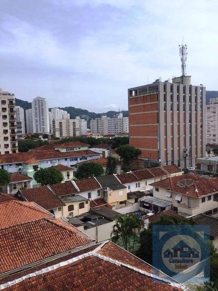 Apartamento Com 1 Dormitório À Venda, 60 M² Por R$ 278.000 - Campo Grande - Santos/sp - Ap3839