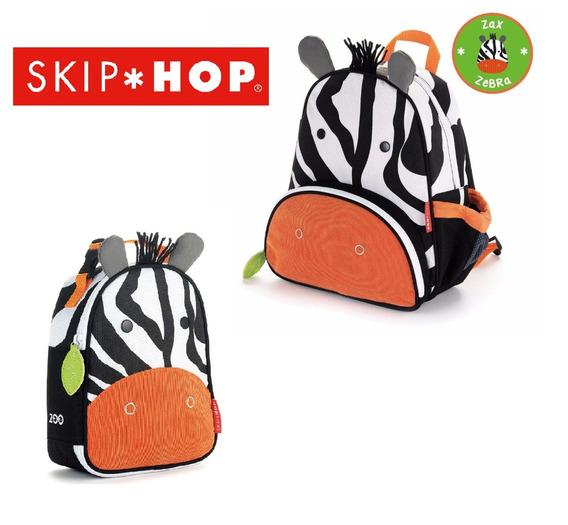 Conjunto Mochila E Lancheira Térmica Skip Hop ® Zoo Zebra