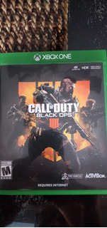 Call Of Duty Black Ops 4 Xbox Impecable!