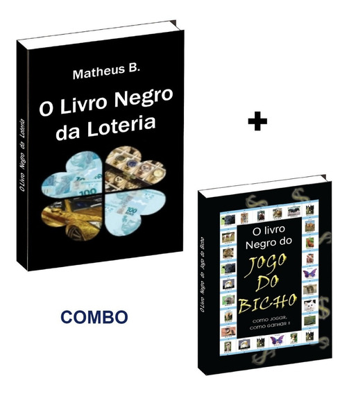 O Livro Negro Da Loteria + Livro Do Jogo Do Bicho